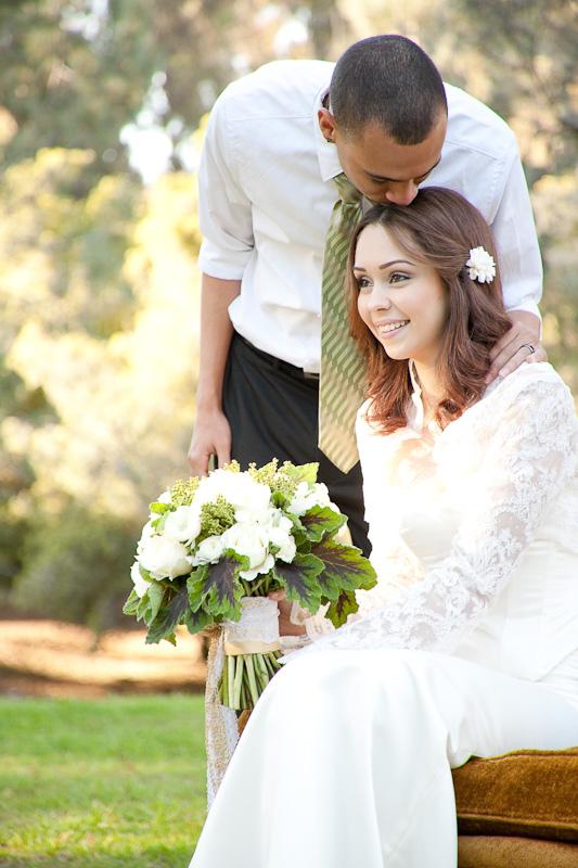 Locky In Love Green Wedding Ideas Cherry Blossom
