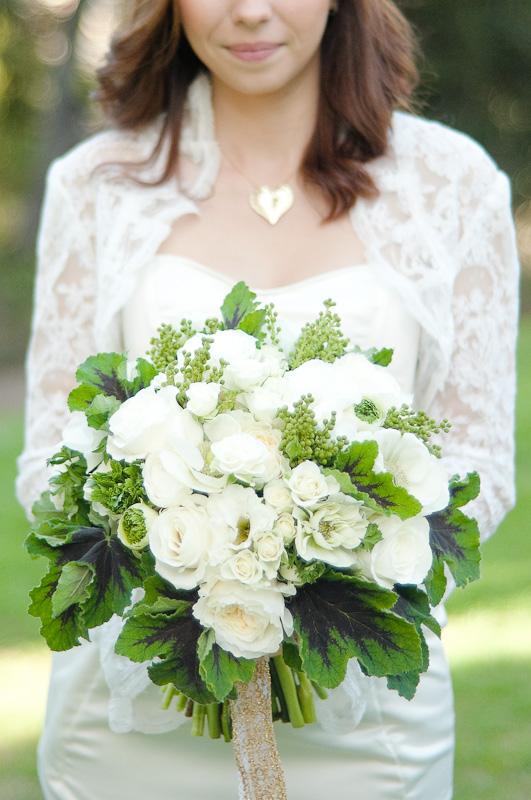 Locky in Love Green Wedding Ideas Cherry Blossom Floral Designs